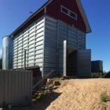 Grain drying CHP application in Finland