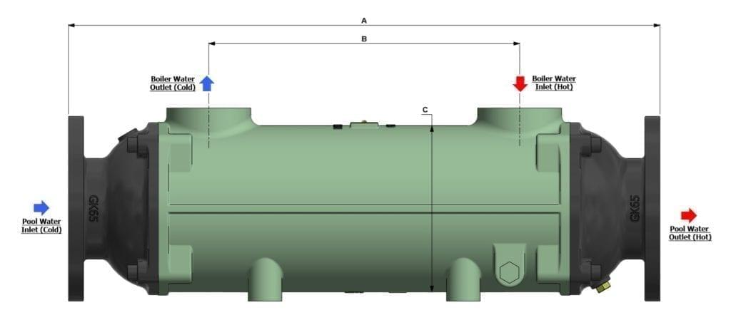 Bowman Swimming Pool Heat Exchanger Drawing